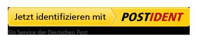 Jetzt identifizieren mit VIDEOIDENT. Ein Service der Deutschen Post